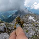 Gipfelpause mit dem Hintersteiner See im Blick ©Gipfelfieber