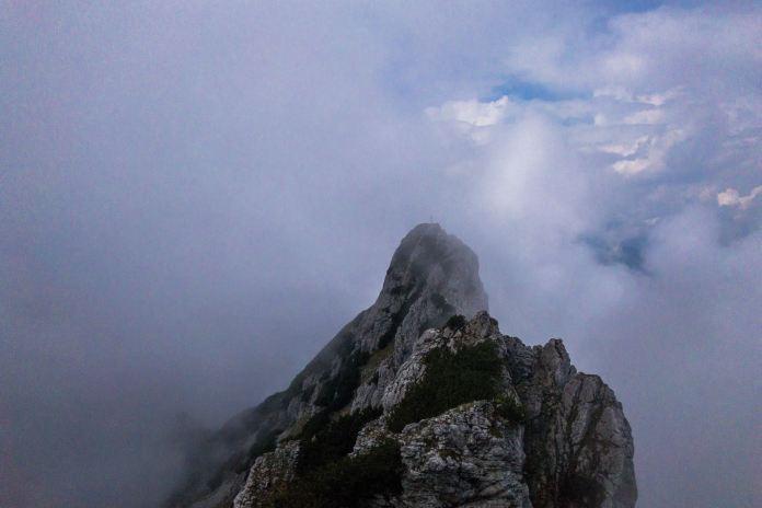 Klettersteig Wilder Kaiser : Der kufsteiner klettersteig: von schwarzen wänden und götterquerungen