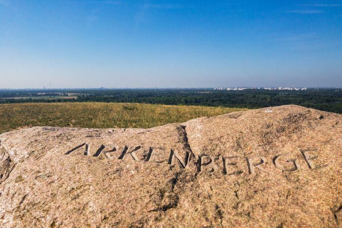 Projekt 16 Gipfel: Der höchste Berg von Berlin – Die Arkenberge