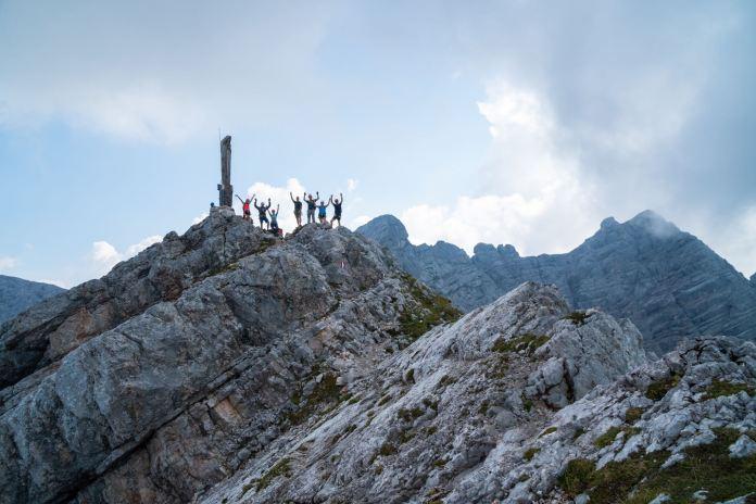 Frischluft Kick am Persailhorn: Klettersteig-Rundtour im Steinernen Meer ©Gipfelfieber