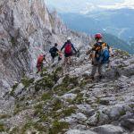 Abstieg über den Südwand-Klettersteig ©Gipfelfieber