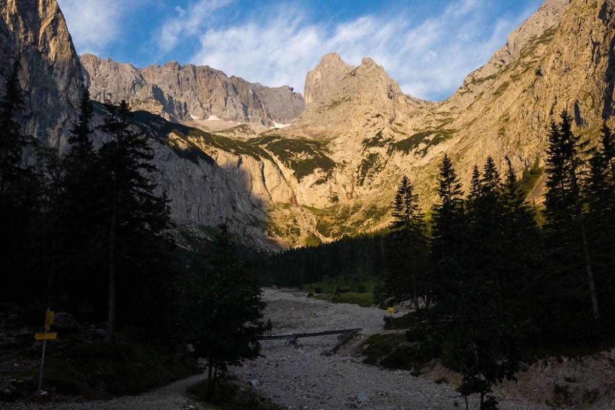 Projekt 16 Gipfel: Durchs Höllental auf die Zugspitze - Der Weg ist das Ziel