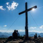 Gipfelkreuz der Hochplatte ©Gipfelfieber