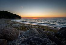 Sonnenaufgang am Ostseestrand ©Gipfelfieber