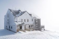 Eisige Hagener Hütte ©Gipfelfieber
