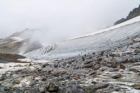 Über den Gletscher ©Gipfelfieber