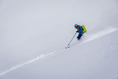 Schöffel Skitourenkollektion im Einsatz ©Gipfelfieber