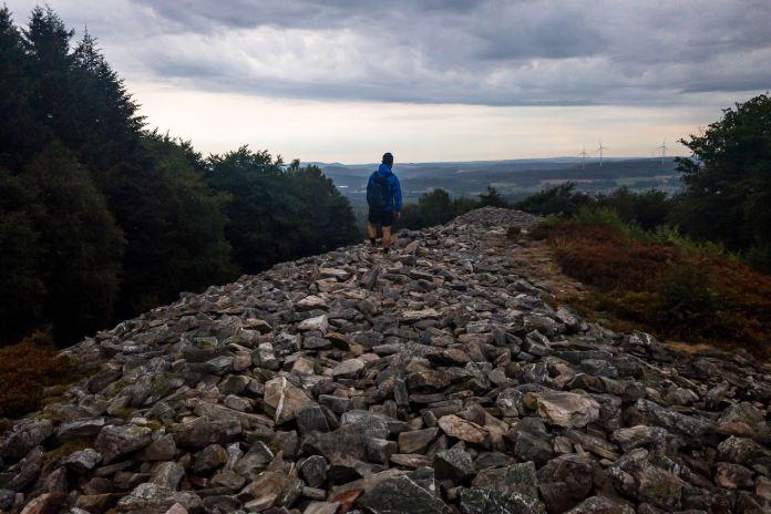 Projekt 16 Gipfel im Saarland: Bei den Kelten am Dollberg