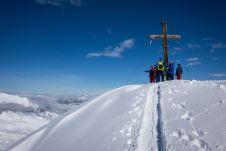 Gipfelkreuz der Madrisella ©Gipfelfieber