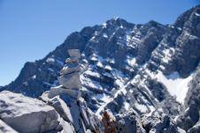 Steinmandl vor der Watzmann Ostwand ©Gipfelfieber
