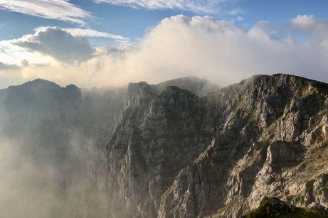 Wolken über dem Winkelkar ©Gipfelfieber