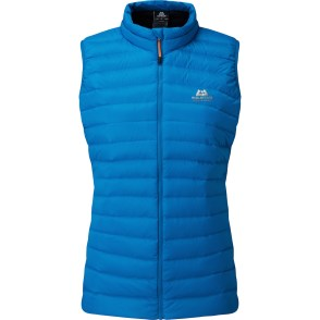 Frostline Womans Vest Azure © Mountain Equipment