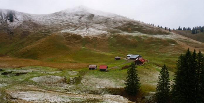Die Rauhalmhütte in den Bayerischen Voralpen