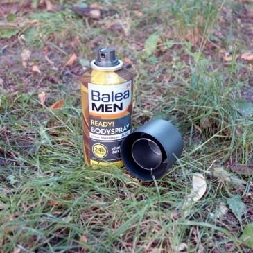 Balea MEN Bodyspray Deodorant ready! im Test