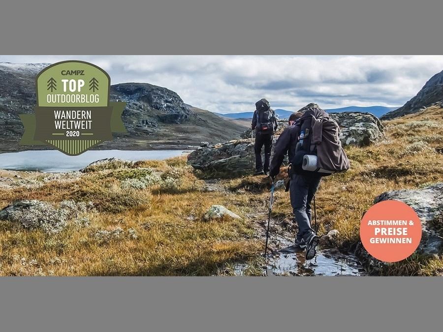 CAMPZ Blogwahl 2020 Kategorie Wandern weltweit