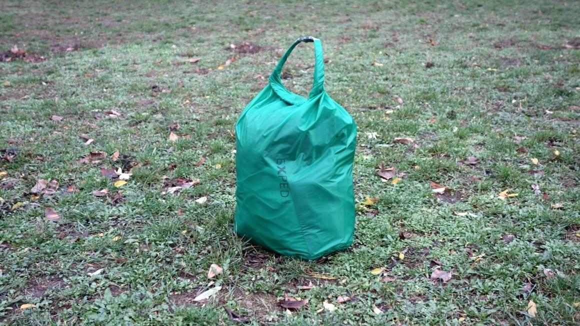 Exped Fold Drybag UL Packsack im Schnelltest