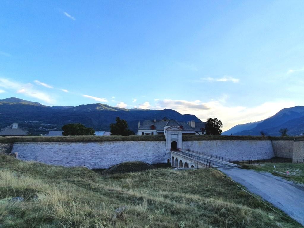 Start meines Hannibal Trek: Festung Mont-Dauphin