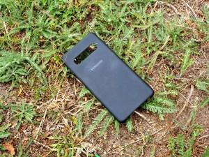 Samsung Silicone Cover S10 Außenseite