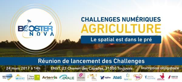 Challenges Numériques Agriculture by Booster Nova – Réunion de lancement