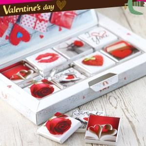 カーラ 3D バレンタインチョコレートボックス