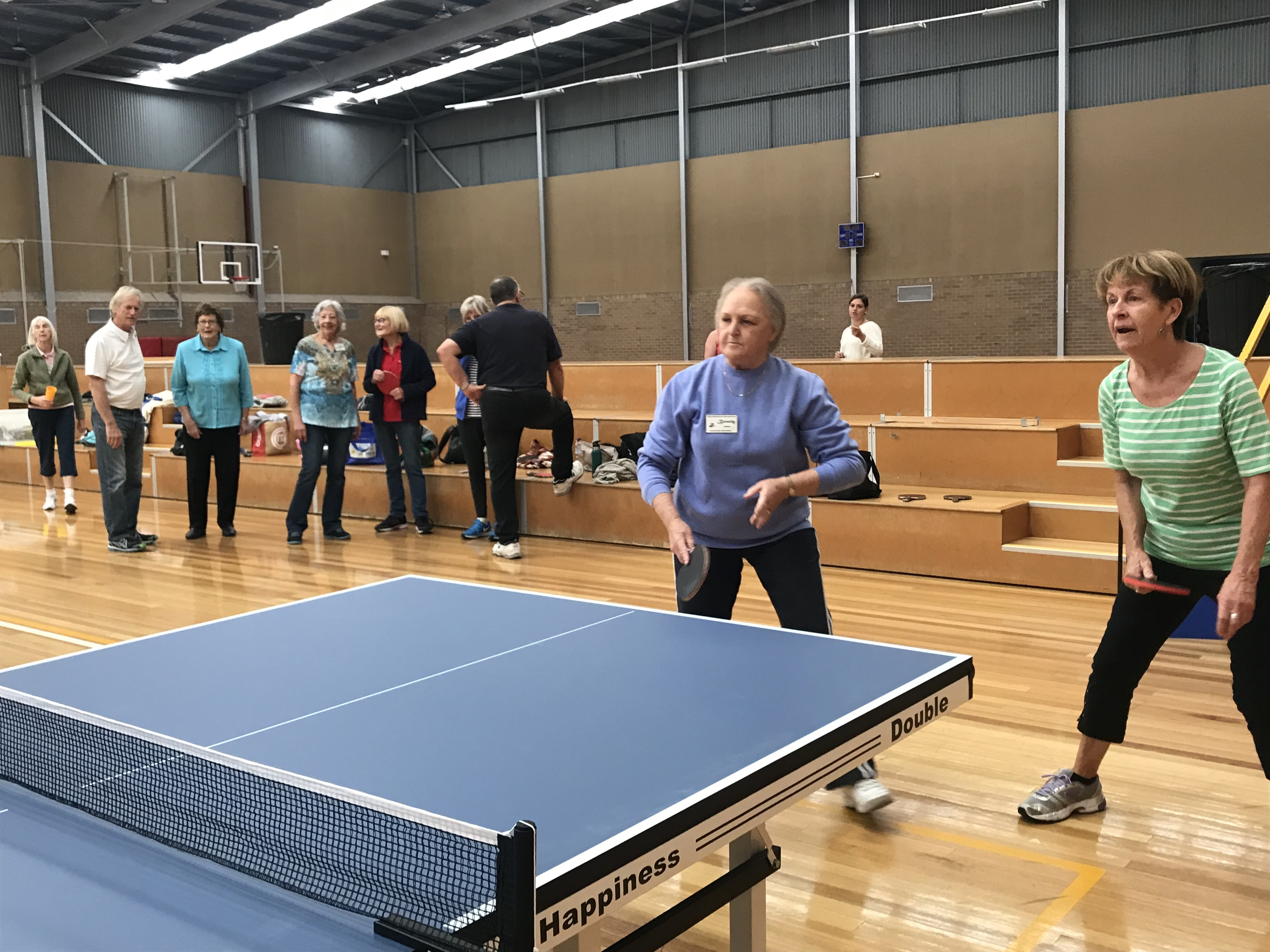 Gippy Girls from Moe Keenagers Table Tennis