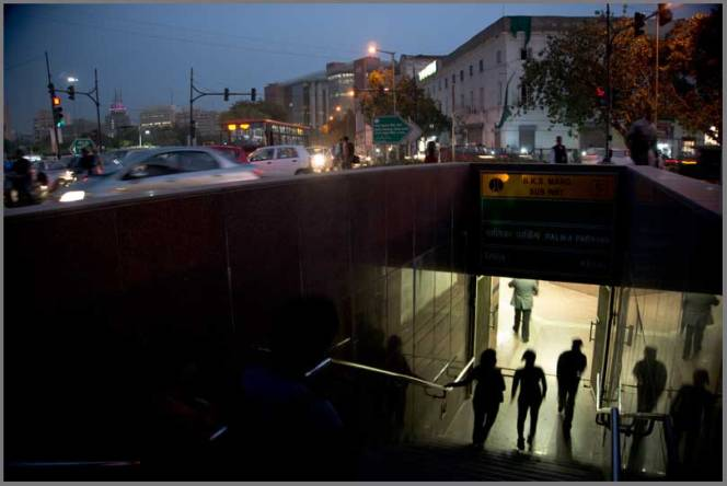 Subway, Connaught place, New Delhi