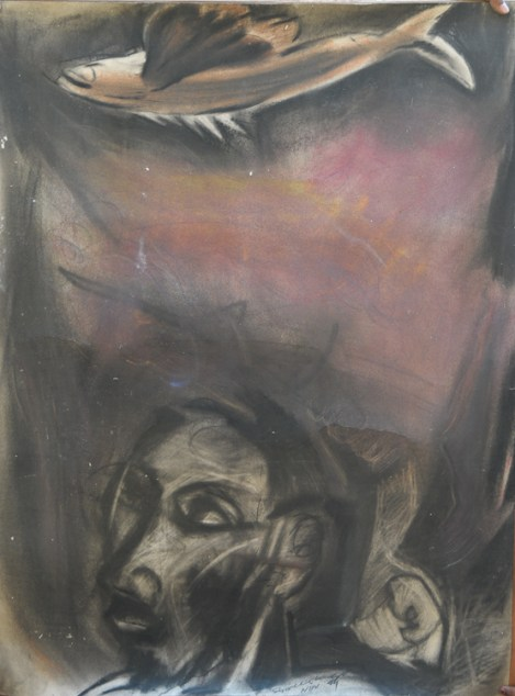Charcoal & dry pastels 1995