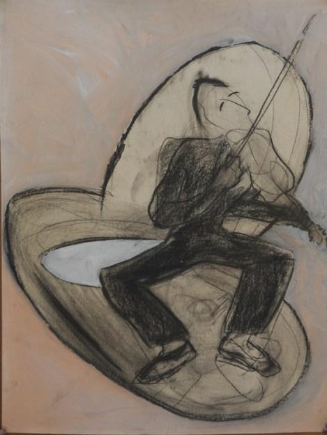 """Violinist""  1995"