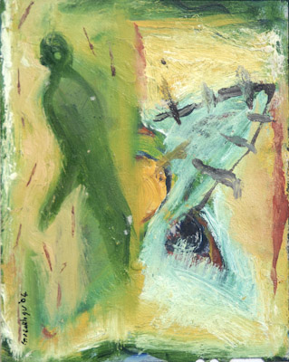 oil on film, 2004 ( in private collection)