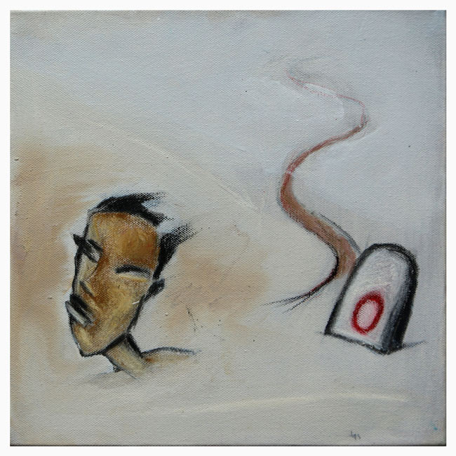 """""""My Lost Journeys"""" series -09. charcoal, glass marking pencil, dry pastels & acrylic on canvas"""