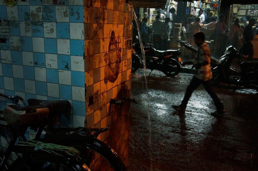 Monsoon in Delhi.