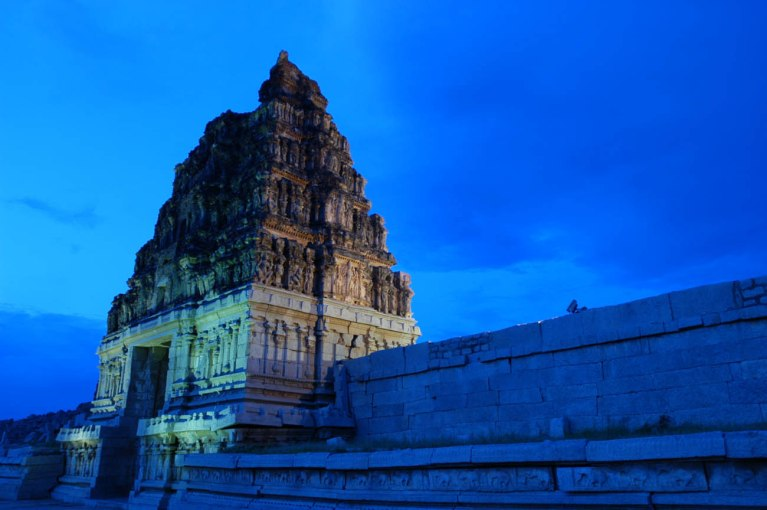 Vittala temple gate Hampi
