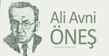 Ali Avni Öneş