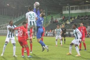 TFF 1. Lig: Giresunspor 0 – Altınordu: 0 (İlk yarı)