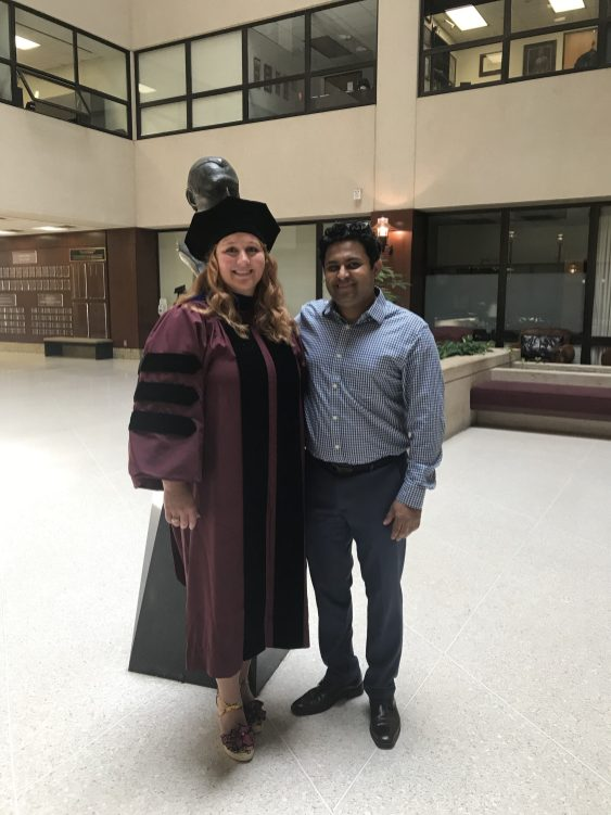With the newly graduated Dr. Shawna Hubert