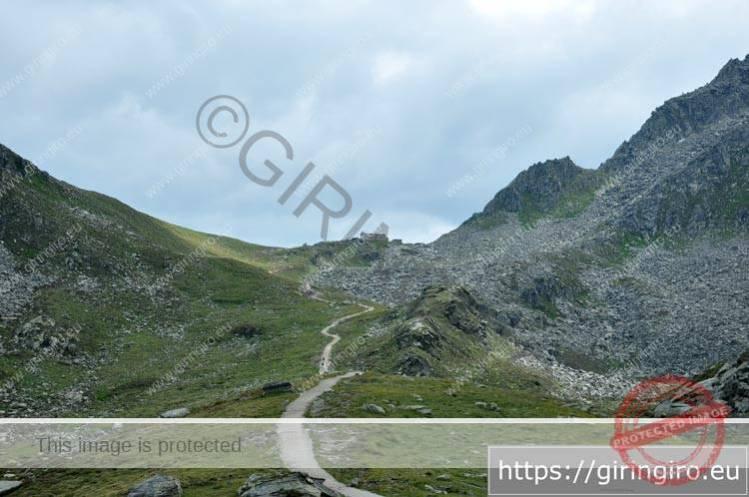 Ultimo tratto sentiero Rifugio Porro