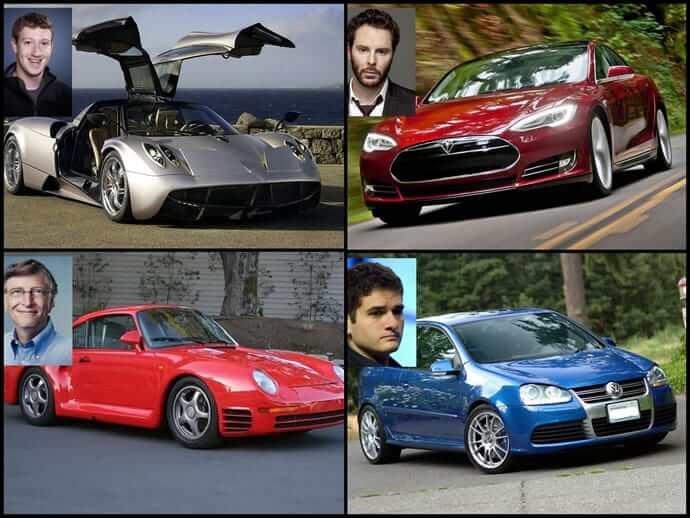 Teknoloji Milyarderlerinin Kullandığı Arabalar