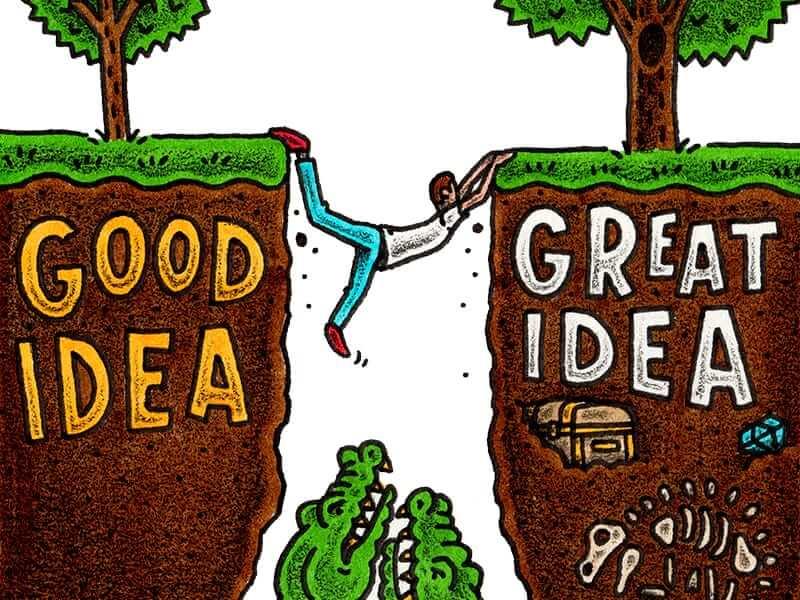 İyi ve Harika Fikir Arasındaki 5 Fark