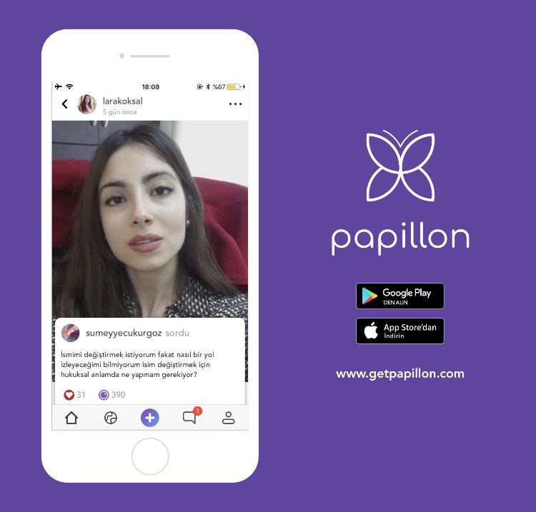 Sosyal Medyaya Tamamen Farklı Bir Bakış Açışı: Papillon