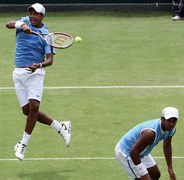 Mahesh and Leander Crashed out of Olympics