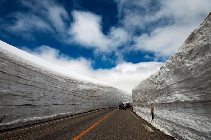 Как се чисти сняг в Япония
