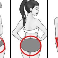 4 видa женски дупета и ефективни упражнения за всяко от тях