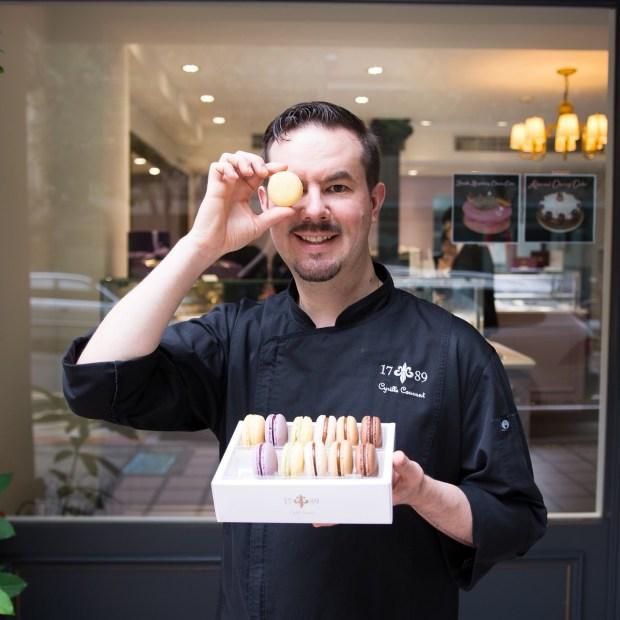_1789 Cafe Patisserie的法籍主廚瑟瑞爾(Cyrille Courant)打造多款精緻美味的閃電泡芙