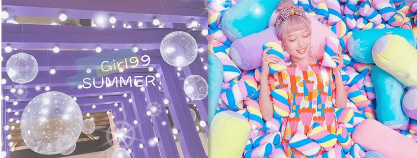 夏日特展/充滿韓系少女的繽紛展覽出沒啦~「冰菓實驗室」打卡點又一發!
