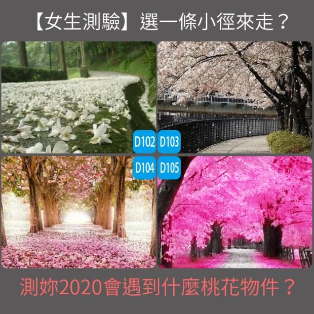 【愛情心理測驗】選一條小徑來走?測妳2020會遇到什麼桃花物件?