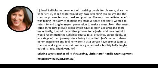 Edwina Wyatt testimonial
