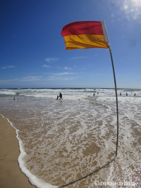 surf life-saving flag
