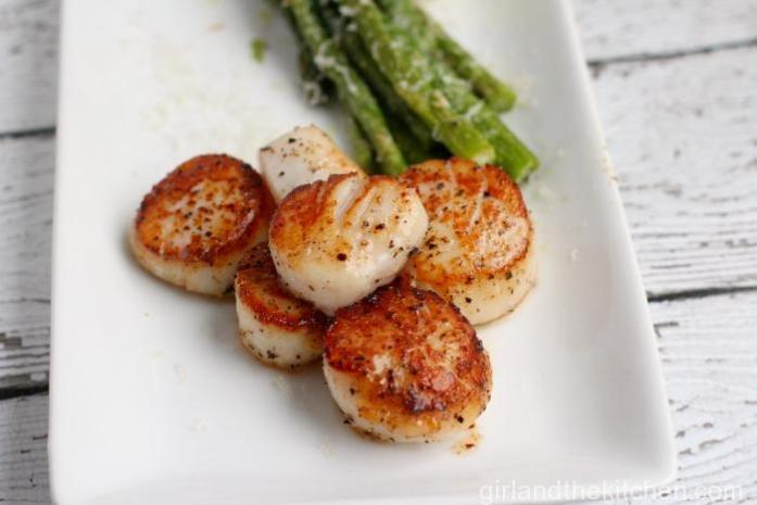 Cooking 101...How to Cook Perfect Seared Scallops