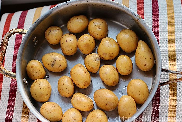 Pan Roasted Dill and Garlic Potatoes-003