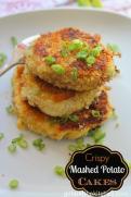 LEFTOVER Mashed Potatoe Cakes